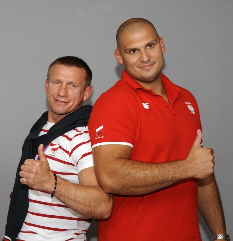 Ryszard Wolny (z lewej) i Łukasz Banak /Paweł Skraba /East News