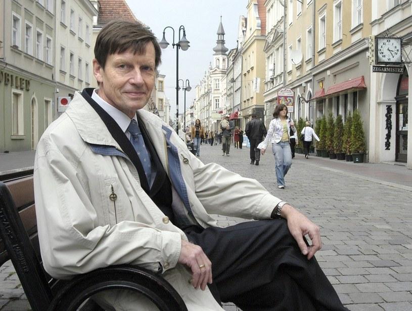 Ryszard Zembaczyński, prezydent Opola. Fot Maciej Podsiadlik /Reporter