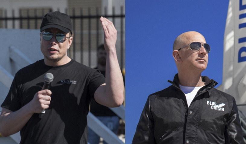 Rywalizacja pomiędzy Muskiem a Bezosem staje się coraz ostrzejsza /AFP
