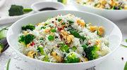 Ryż smażony z brokułami