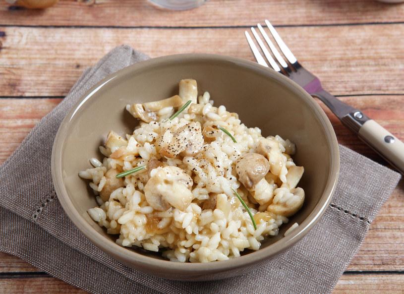 Ryż z grzybami /123RF/PICSEL