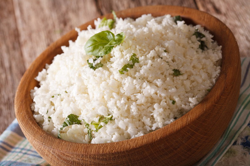 Ryż z kalafiora to doskonała alternatywa dla białego ryżu  lub makaronu /123RF/PICSEL