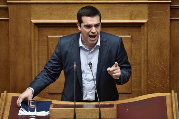 Rząd Aleksisa Ciprasa (na zdjęciu) zamierza odzyskać reparacje wojenne fot. Aris Messinis /AFP
