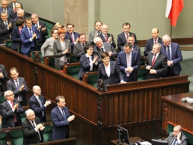 Rząd Beaty Szydło, fot. Robert Ostrowski /Agencja SE/East News