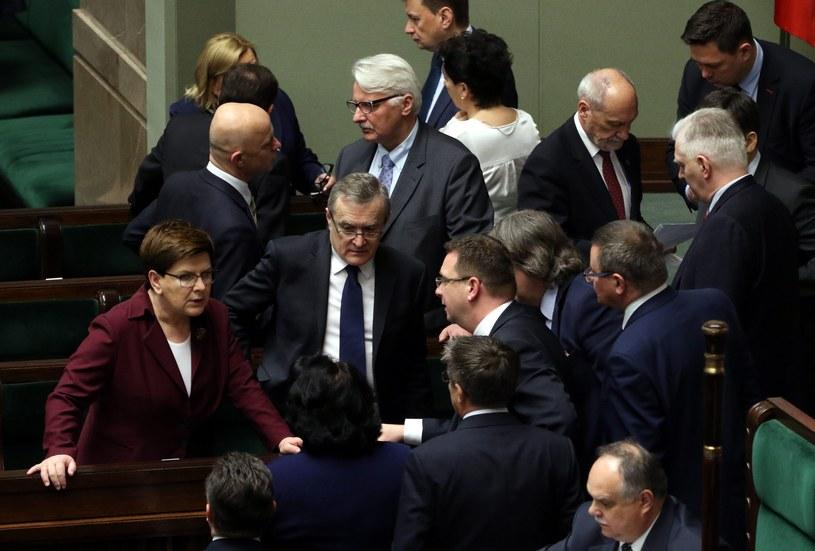 Rząd Beaty Szydlo ma się czego obawiać? / Fot. Sławomir Kamiński /