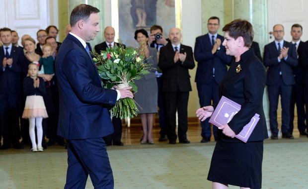 Rząd Beaty Szydło powołany. Takie są jego priorytety