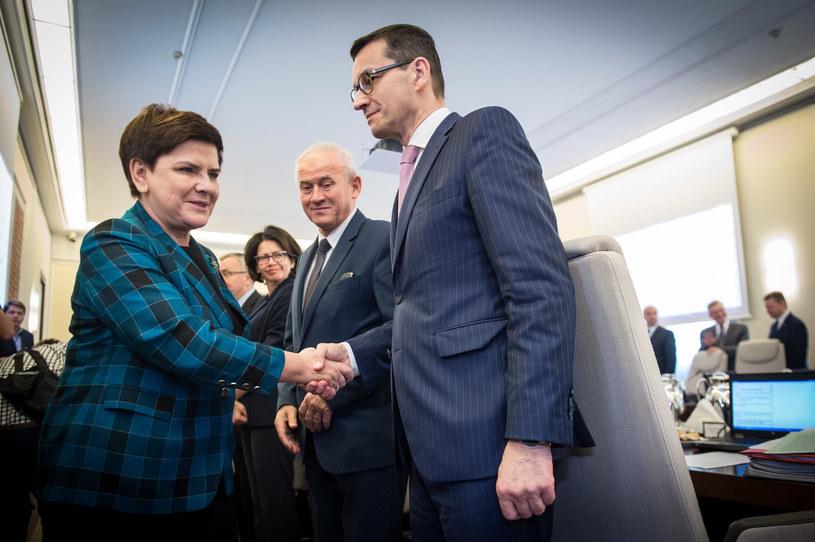 Rząd Beaty Szydło /Jacek Domiński /Reporter