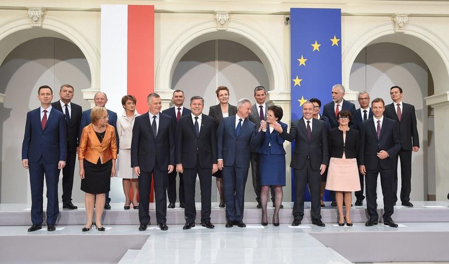 Rząd Ewy Kopacz /Radek Piertuszka /PAP