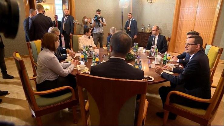 Rząd i opozycja ws. Białorusi działają wspólnie /Polsat News