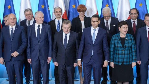 Rząd Mateusza Morawieckiego / Marcin Obara  /PAP