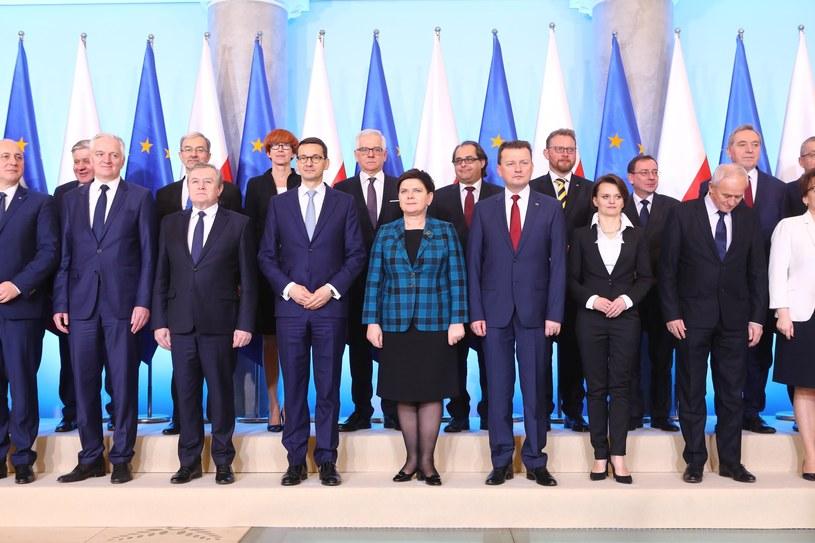 Rząd Mateusza Morawieckiego /Stanisław Kowalczuk /East News