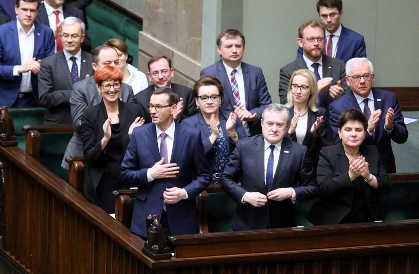 Rząd Mateusza Morawieckiego /Piotr Molecki /East News