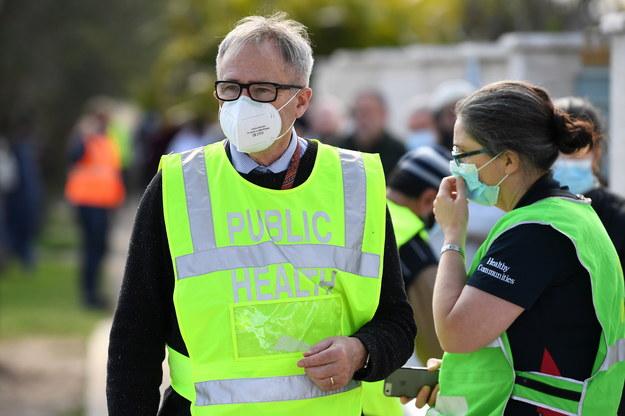 Rząd stanu Wiktoria ogłosił stan klęski żywiołowej /JOEL CARRETT    /PAP/EPA
