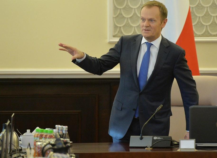 Rząd zebrał się po raz pierwszy w Nowym Roku /Radek Pietruszka /PAP