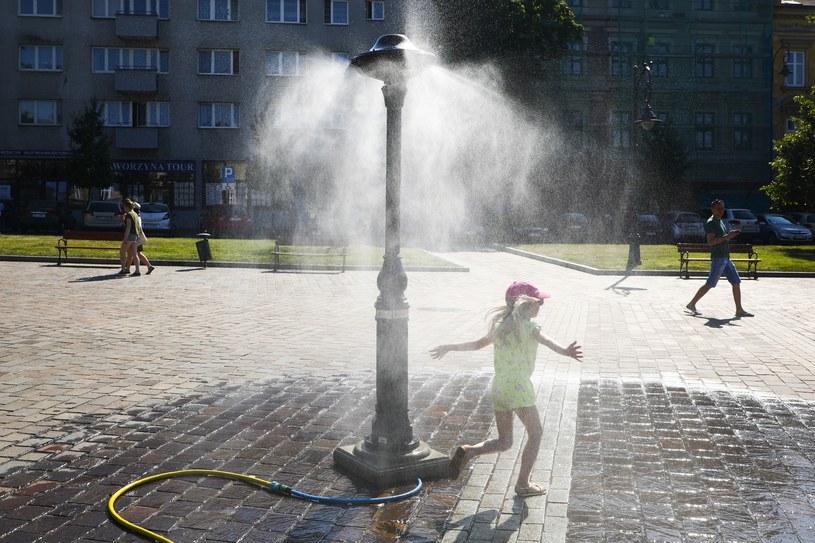 Rządowe Centrum Bezpieczeństwa zaleca, aby w związku z upałami ograniczyć przebywanie w pełnym słońcu /Beata Zawrzel /Reporter