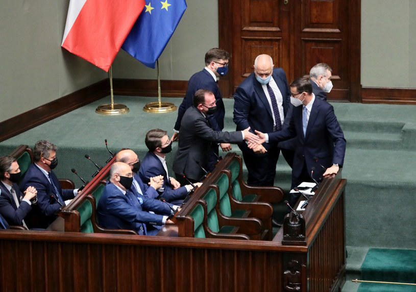 Rządowe ławy w Sejmie /Piotr Molecki /East News