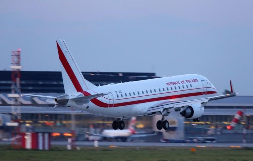 Rządowy samolot /STANISLAW KOWALCZUK /East News