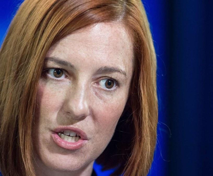Rzeczniczka amerykańskiego Departamentu Stanu Jen Psaki /AFP