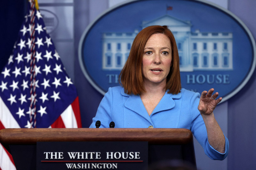 Rzeczniczka Białego Domu Jen Psaki /ALEX WONG / GETTY IMAGES NORTH AMERICA / GETTY IMAGES VIA AFP /AFP