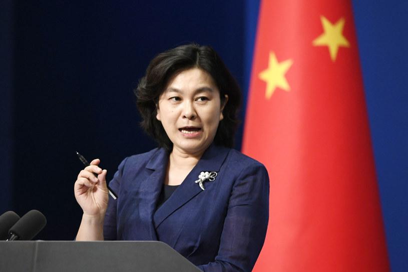 Rzeczniczka chińskiego MSZ Hua Chunying /KYDPL KYODO/Associated Press /East News