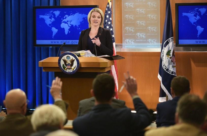 Rzeczniczka Departamentu Stanu Heather Nauert /AFP