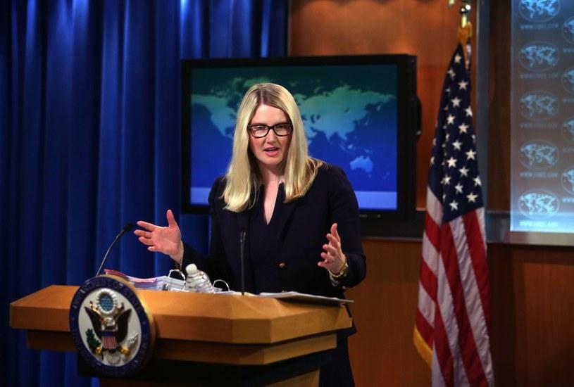 Rzeczniczka Departamentu Stanu USA Marie Harf /AFP