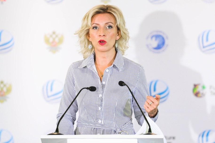 Rzeczniczka MSZ Rosji Maria Zacharowa /Vitaly Nevar /PAP/ITAR-TASS