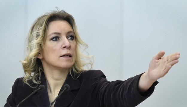 Rzeczniczka MSZ Rosji Marija Zacharowa /AFP