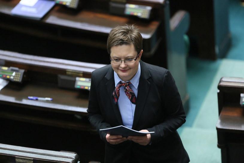 Rzeczniczka Nowoczesnej Katarzyna Lubnauer /Leszek Szymański /PAP
