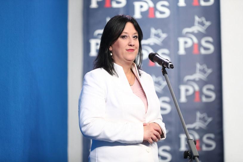 Rzeczniczka PiS Anita Czerwińska /fot. Andrzej Iwanczuk /Reporter