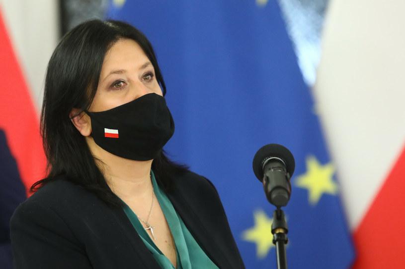 Rzeczniczka PiS Anita Czerwińska /Tomasz Jastrzębowski /Reporter