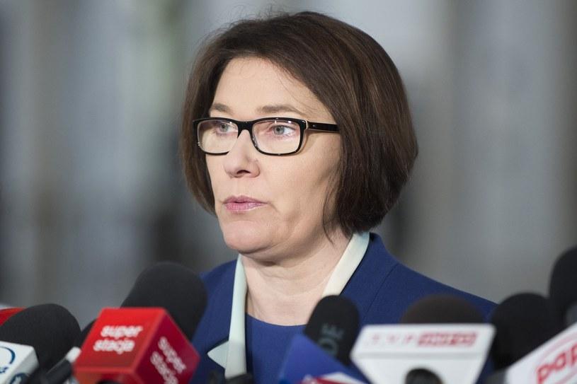 Rzeczniczka PiS Beata Mazurek /Jakub Wosik  /Reporter