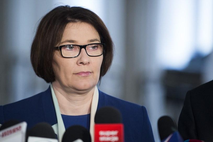 Rzeczniczka PiS Beata Mazurek /Fot. Jakub Wosik /Reporter