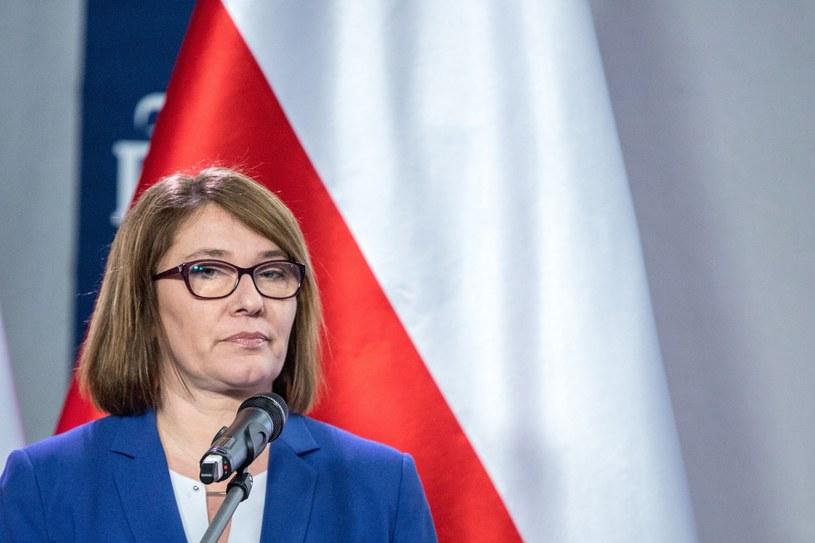 Rzeczniczka PiS Beata Mazurek /Grzegorz Banaszak /Reporter