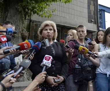 Rzeczniczka praw człowieka uznała stan Sencowa za zadowalający