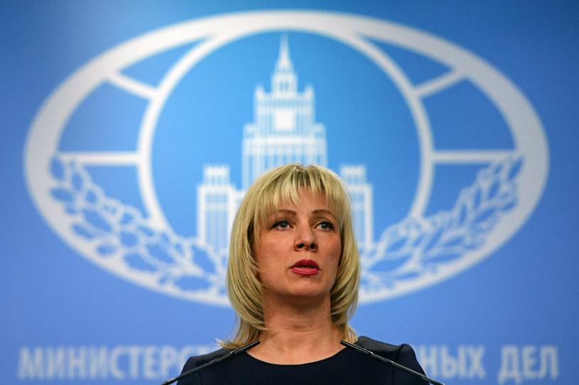 Rzeczniczka rosyjskiego MSZ Maria Zacharowa /Yuri Kadobnov /AFP