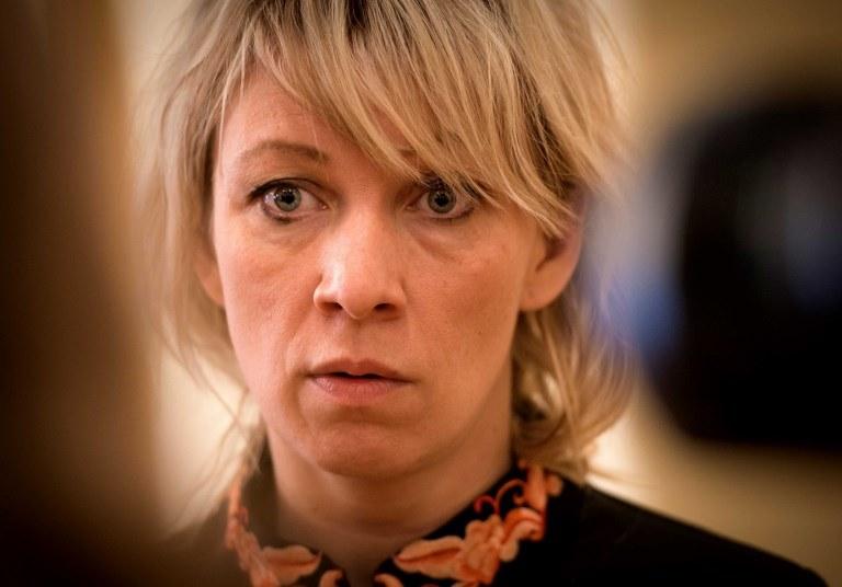 Rzeczniczka rosyjskiego MSZ Maria Zacharowa /MLADEN ANTONOV /AFP