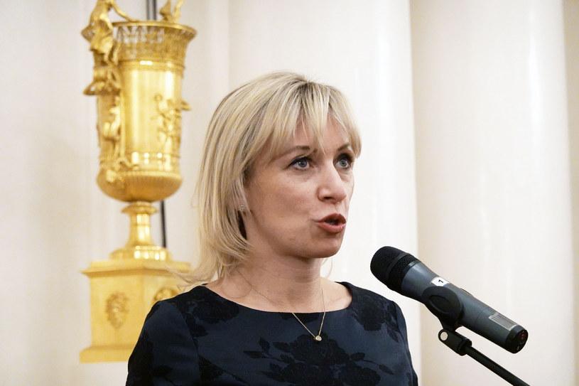 Rzeczniczka rosyjskiego MSZ Maria Zacharowa /Wojtek Laski/East News /East News