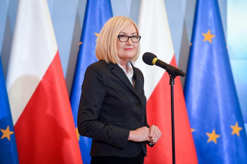 Rzeczniczka rządu Joanna Kopcińska /Jacek Domiński /Reporter
