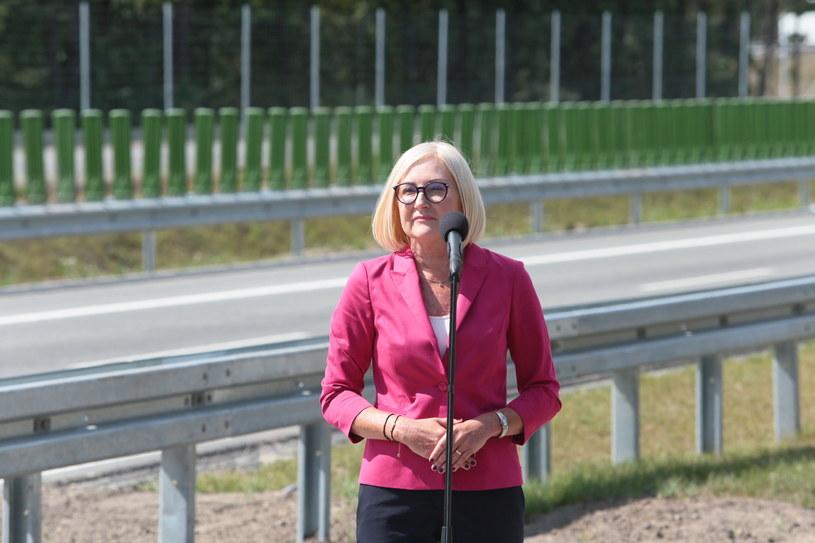 Rzeczniczka rządu Joanna Kopcińska /PAP