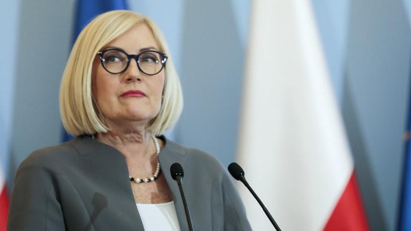 Rzeczniczka rządu Joanna Kopcińska /Grzegorz Banaszak /Reporter
