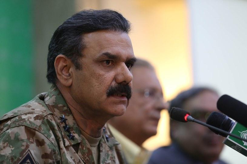 Rzecznik armii Pakistanu Asim Saleem Bajwa /Getty Images