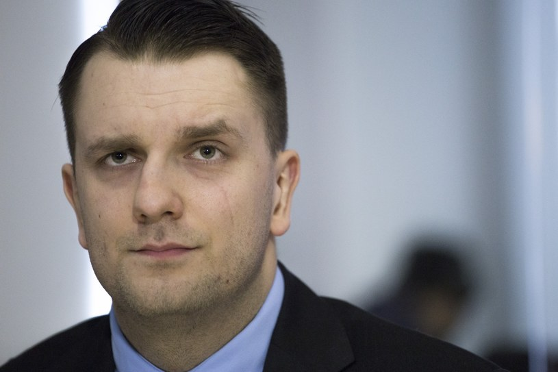 Rzecznik Bezpartyjnych Samorządowców Łukasz Mejza /Maciej Łuczniewski /East News