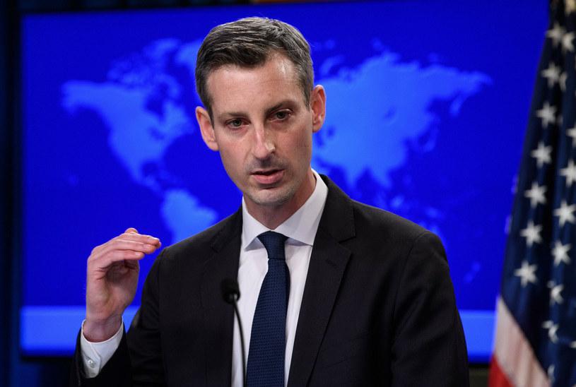 Rzecznik Departamentu Stanu Ned Price /NICHOLAS KAMM / AFP /East News