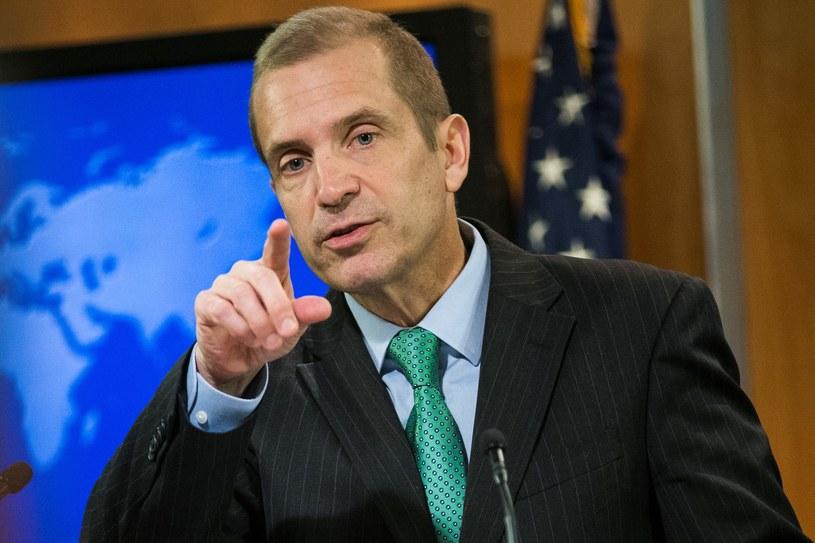 Rzecznik Departamentu Stanu USA Mark Toner /Getty Images