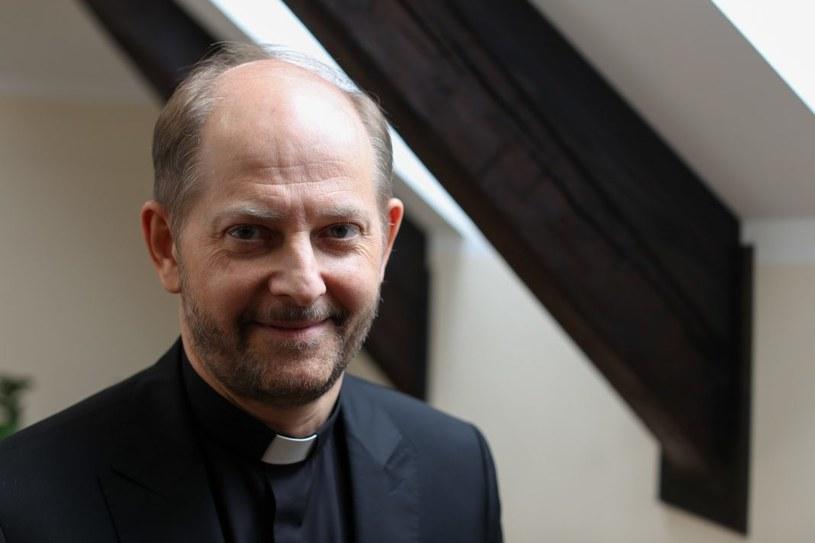 Rzecznik episkopatu ks. Leszek Gęsiak SJ. /materiały prasowe