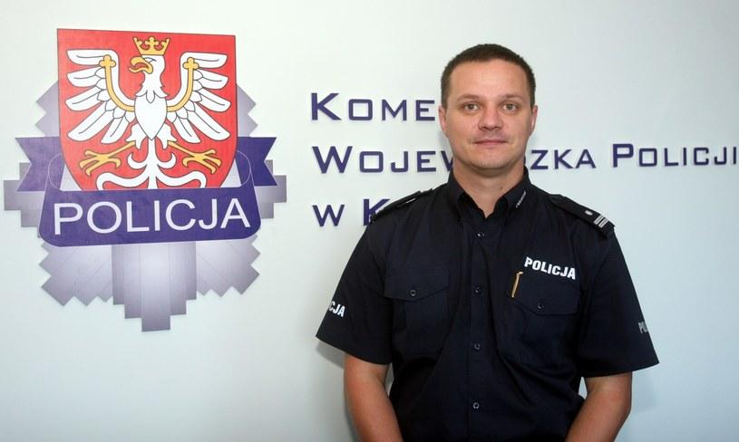 Rzecznik KGP Mariusz Ciarka /Artur Barbarowski /East News