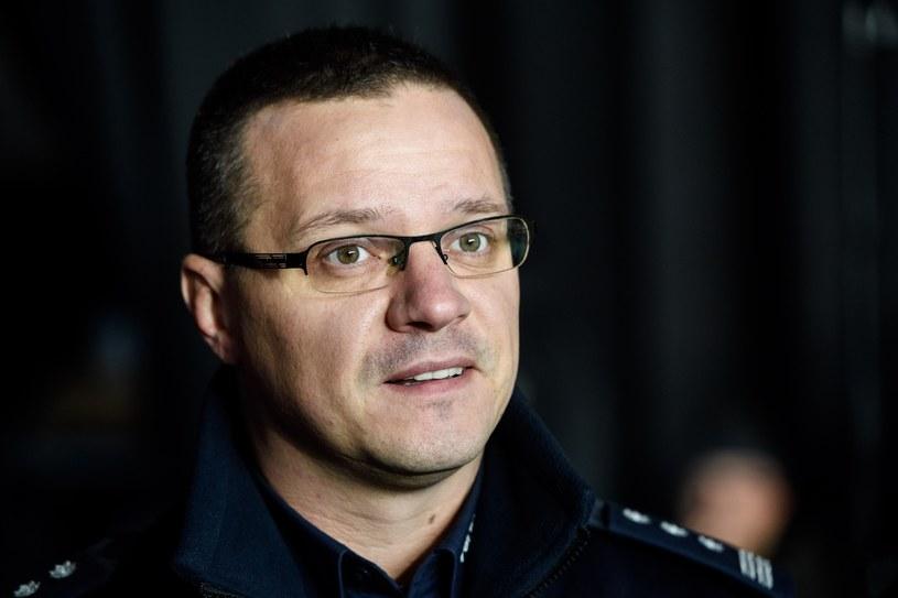 Rzecznik KGP Mariusz Ciarka /Rafal Oleksiewicz /Reporter