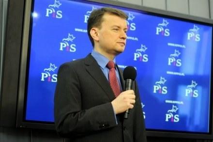 Rzecznik klubu PiS Mariusz Błaszczak / fot. R. Zalewski /Agencja SE/East News
