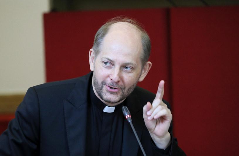 Rzecznik Konferencji Episkopatu Polski ks. Leszek Gęsiak /Piotr Molecki /East News